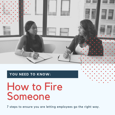 How to fire someone