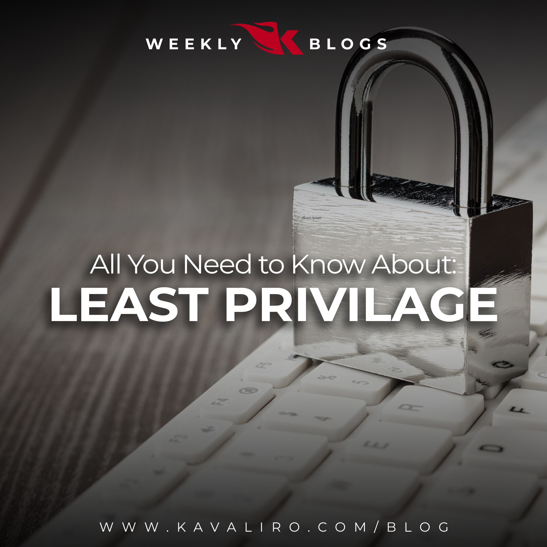 All You Need to Know About 'Least Privilege'