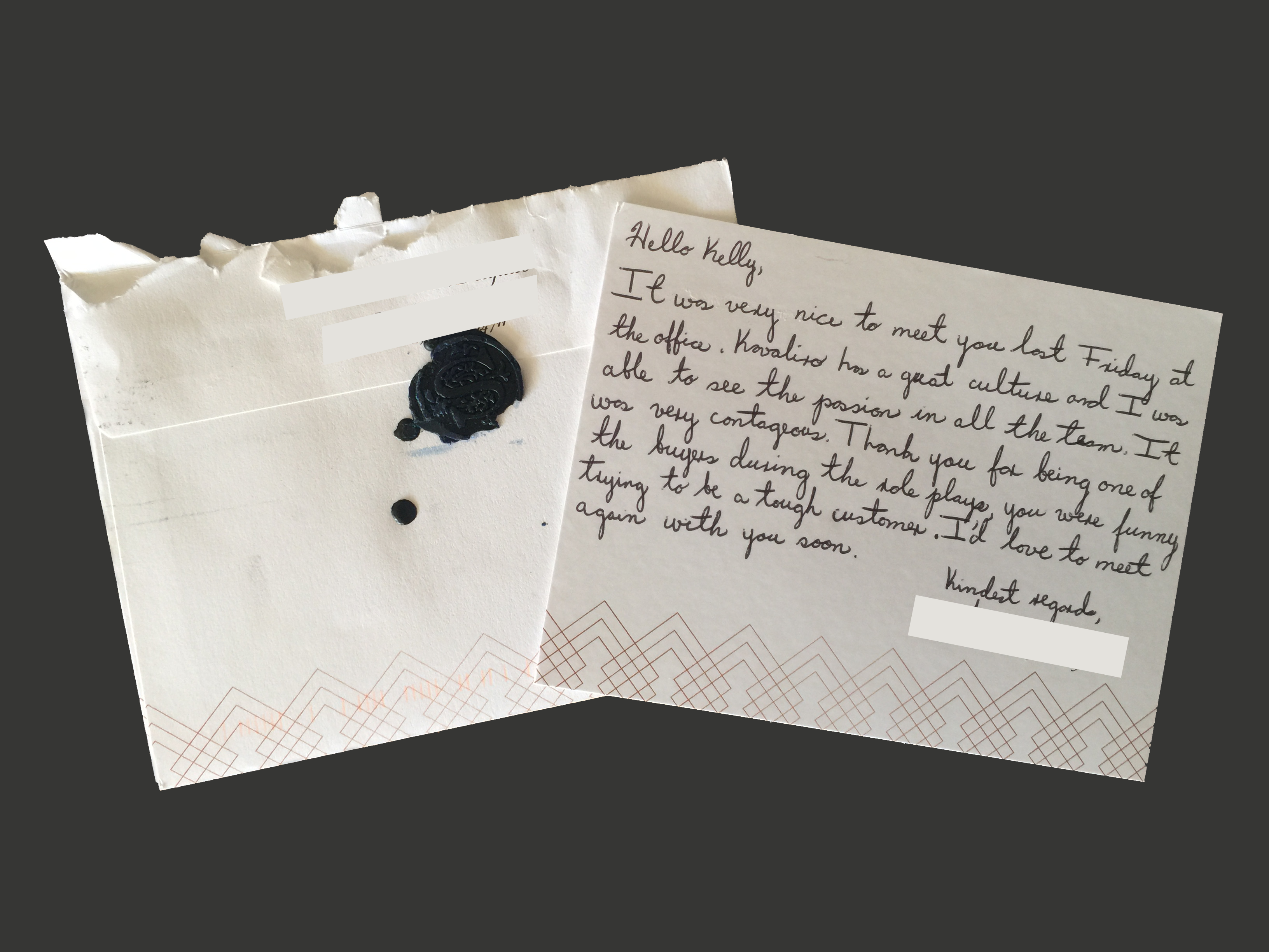 How to write the perfect thank you letter after an interview letter aljukfo Image collections