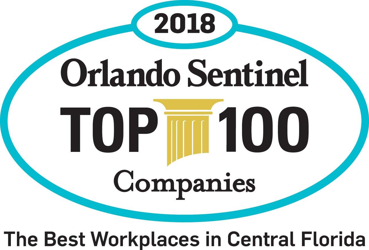 Kavaliro Named in Orlando Sentinel Top 100 Companies List 2018