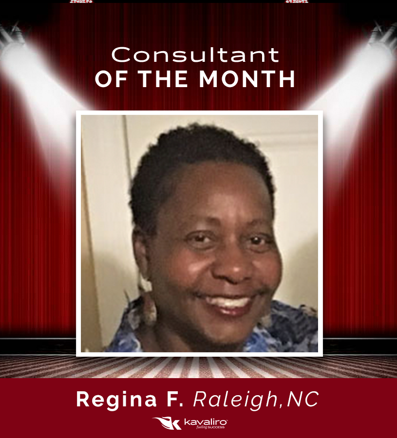 Consultant of the Month: Regina Frazier
